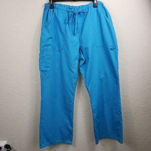 SB Scrubs Pants Turquoise Large